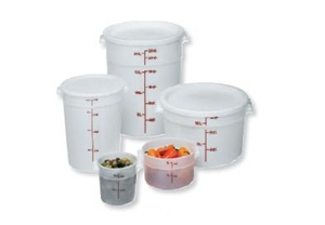 Cambro Round Plastic Container Cover 2 and 4 Quart