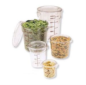 Cambro Round Container Clear 12 Quart