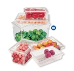 Cambro Cam-Ware Container Clear 22 Gal.