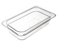 Cambro Deep Pan Half Size Amber 4 in.