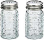 Tablecraft Faceted Salt and Pepper Shaker - 1.5 Oz.