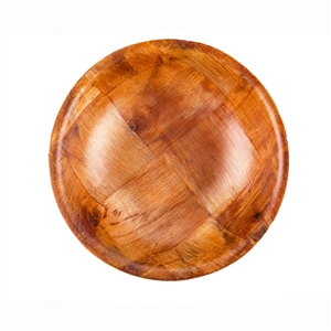 Tablecraft Mahogany Wood Salad Bowl - 6 in.