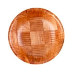 Tablecraft Mahogany Wood Salad Bowl - 8 in.