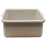 Tablecraft Tote Deep Bus Box Grey - 21.25 in. x 15.75 in. x 5 in.
