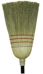 O-Cedar Economy Warehouse Corn Wood Handle Broom - 56 in. x 12 in. x 9 in.