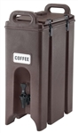 Cambro Plastic Beverage Dispenser Dark Brown 4.75 Gal.