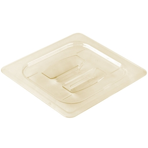 Cambro Cover Seal One Sixth Size Amber