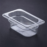 Cambro Plastic Pan One Ninth Size 2.5 in.