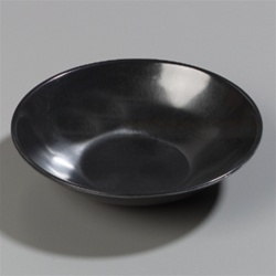 Carlisle Salad Bowl Black 6 in.
