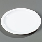 Carlisle Kingline Narrow Rim Dinner Plate White 9 in.