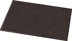 Carlisle Bar Mat Brown 12 in. x 18 in.