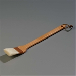 Carlisle Long Handled Wood Basting Brush Nylon/Boar Bristle