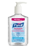 Hand Sanitizer Pump Bottle - 8 Oz.