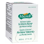 Gojo Micrell Antibacterial Lotion Soap Bag In Box - 800 Ml.