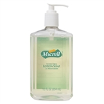 Gojo Micrell Antibacterial Lotion Soap Bottle Pump - 12 Oz.