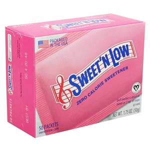 Sugar Foods Natutal Sweet N Low Sugar Substitute 1 Grm.