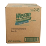 Conagra Shortening Wesson Super Quick Blend - 50 Lb.