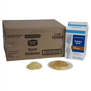 Basic American Golden Grill Russet Premium 40.5 oz. Hashbrown Potato