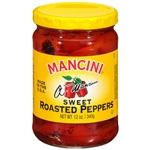 Mancini Roasted 12 oz. Red Peppers