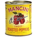 Mancini Roasted Sweet 29 oz. Red Peppers