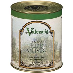Bell-Carter Black Ripe Sliced Valencia Olive