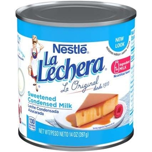 Nestle La Lechera Sweetened Condensed Milk - 14 Oz.