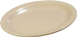 Carlisle Kingline Oval Platter Tan 12 in.