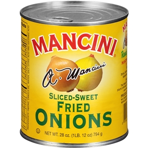 Sliced Sweet Fried Onions - 28 Oz.