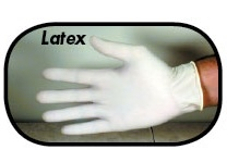 Disposable Powdered Latex Gloves - Extra Large