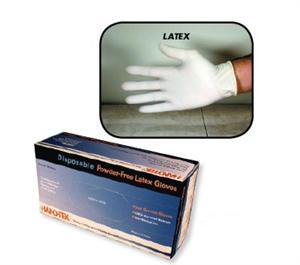 Boyd Latex Powder-Free Disposable Gloves Large