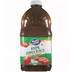 Clement Pappas Apple Juice Plastic Bottle - 64 Oz.