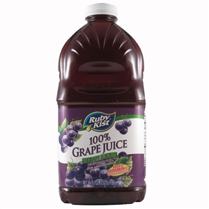 Clement Pappas Grape Juice Plastic Bottle - 64 Oz.