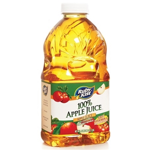 Clement Pappas Apple Juice Grip Plastic Bottle - 46 Oz.