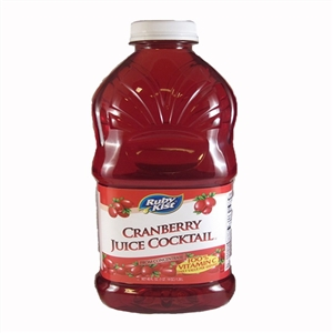 Clement Pappas Grip Plastic Bottle Cranberry Cocktail Juice - 46 Oz.