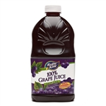 Clement Pappas Grape Juice Grip Plastic Bottle - 46 Oz.