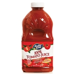 Clement Pappas Tomato Juice Grip Plastic Bottle - 46 Oz.