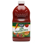Clement Pappas Vegetable Juice Grip Plastic Bottle - 46 Oz.