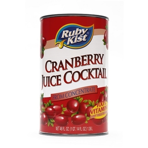 Clement Pappas Cranberry Cocktail Juice Can - 46 Oz.