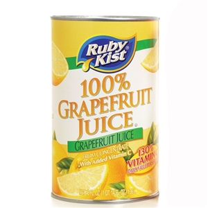 Clement Pappas Grapefruit Juice Can - 46 Oz.