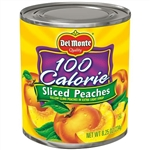 Del Monte Peach Sliced Lite - 8.25 Oz.