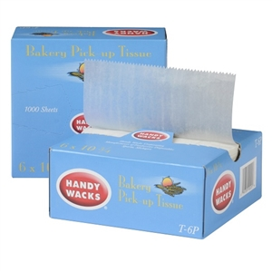 Handy Wacks Interfolded Wax Bakery Tissue - 6 in. x 10.75 in.