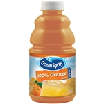 Ocean Spray Bar Pac Mixer 100 Percentage Orange Juice Bottle - 32 Oz.