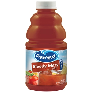 Ocean Spray Bar Pac Bottle Bloody Mary Mixer - 32 Oz.