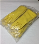 Boyd Flock Lined Latex Gloves Medium