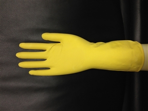 Boyd Flock Lined Latex Glove Large