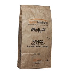 Upper Crust Enterprises Japanese Panko Bread Large Crumb - 20 Lb.