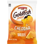 Campbell's Goldfish Pepperidge Farm Cheddar Cheese Single Serve 1.5 Oz