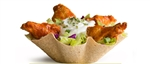 Salad Shell Baked Flour Edibowls - 7.5 in.