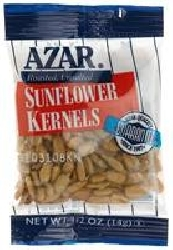 Sunflower Kernels Oil Roasted Unsalted - 0.5 Oz.