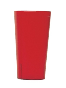 Cambro Colorware Plastic Tumbler Red 32 Oz.